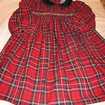 Christie Brooks Holiday Plaid Dress - Size 6x -   Photo