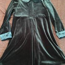 Christie Brooks Sz 5/6 Green Christmas Dress  So Soft Euc Photo