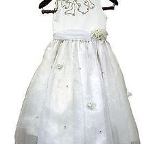 Christie Helene Dressy Wedding  Dress Size 7-8  Made in Usa Photo