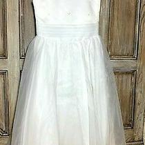 Christie Helene Size-12 2925 White Communion Dress Flower Girl Wedding 250 Nwt Photo