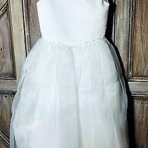 Christie Helene Size-7 Jen 2 White Communion Dress Flower Girl Wedding 250 Nwt Photo