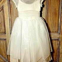 Christie Helene Sz-7 White Communion Dress Jennifer Flower Girl Wedding 250 Nwt Photo