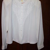 christie& Jill Beautiful Dress Blouse Size 8 Photo