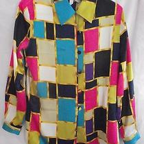 christie&jill New Women Blouse Top Shirt Size Pm Clothing Polyester Dress  Pants Photo