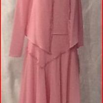Christie of California Mother of the Bride Gown 3pc Set Pink Size 8 Photo