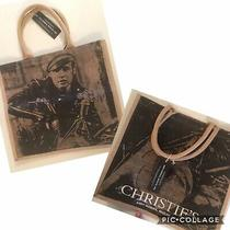 Christies Andy Warhol Marlon Brando 1966 Canvas Tote Bag Brand New Photo
