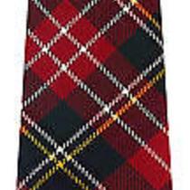 Christie Tartan (Modern) Soft Pure Scottish Wool Mens Tie Photo
