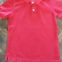Christmas Holiday Gap Red Polo Ss Top- 100% Cotton-Boys Size Xs (4-5) Photo