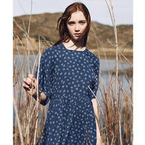 Christy Dawn the Theo Maxi Dress Blue Daisy Size Xl Photo