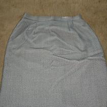 Christy Girl Black/white Skirt - Sizez 14 Photo