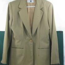 Christy Girl Made in Usa Blazer Brown Women Size 6   Photo