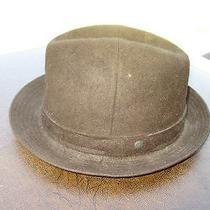 Christy of London Size M Brown Plush Fur Felt Mens Ll Bean Hat