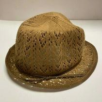 Christy's Crown Series Brown Women's Cotton Knit Summer Bucket Hat Photo