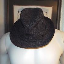 Christy's London Gray Handmade European Wool Harris Tweed Hat L  Photo
