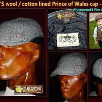 Christy's of London 'Crown' Series Wool - Cotton Lined Cap From Tv Series Photo
