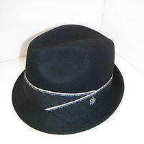 Christy's Pinch Front Felt Black Hat Photo