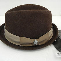 Christys 100% Wool Fedora Brown Medium Includes Sizing Tape Photo
