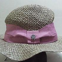 Christys' Crown Collection Saint Martin Grey With Wide Lila Trim Hat Photo