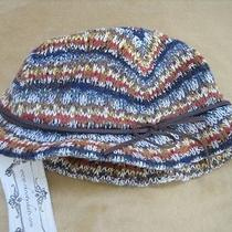 Christys Crown Series Womens Bucket Hat Multicolor Knit Nwt Photo