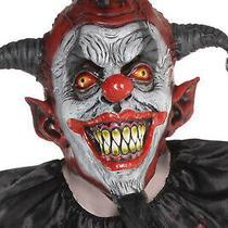 Christys Dress Up Adults Killer Jester Mask Halloween Clown Costume Accessory Photo