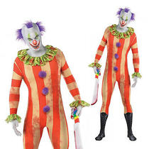 Christys Dress Up Adults Partysuit Killer Halloween Fancy Dress Clown Costume Photo