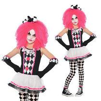 Christys Dress Up Girls Circus Sweetie Teen Halloween Clown Fancy Dress Costume Photo