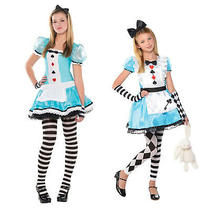 Christys Dress Up Girls Clever Alice in Wonderland Outfit Fancy Dress Costume Photo