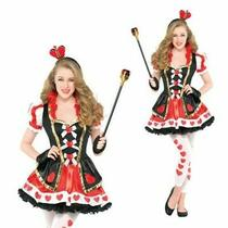 Christys Dress Up Teens Queen of Hearts Wonderland Fancy Dress Costume Outfit Photo