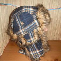 Christys Faux Fur & Wool Bomber Cap Hat Medium New  Photo