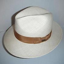 Christys London Handmade Panama Fedora Hat Size Small Photo