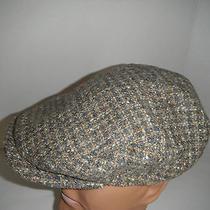 Christys London Wool Blend Tweed Longshoreman Ivy Driving Cap Hat New Xl Photo