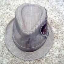 Christys of London England Crown Series Hat Skull Brown Plaid Medium Photo