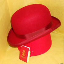 Christys of London Fashion Bowler Red Large Photo
