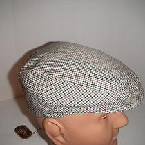 Christys of London  Golf Driving Cap Hat  Medium Made in Italy  New With Tag Photo