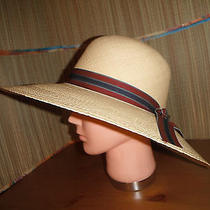 Christys of London Panama Straw Womens Wide Brim Kentucky Derby Hat Natural Photo