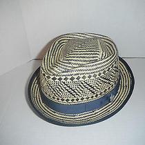 Christys Toyo Straw Fedora Hat Size Medium New Photo