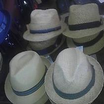 Christys' Woven Straw Fedora Hats Available in Small Medium & Large Photo