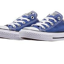 Chuck Taylor All Star Converse Ox Roadtrip Blue  Unisex Sneakers 151177f Size 2 Photo