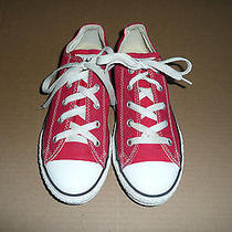 Chuck Taylor Converse Low Top  Shoes - Youth Size 3 Photo