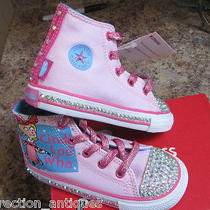 Cindy Lou Who Grinch Converse All Star Pink Infant Baby Shoes Sneakers Crystals Photo