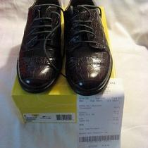 Circa John & David Beauchamp Croc Leather Sz 8 Women Shoes With Box & Cloth Bag Photo