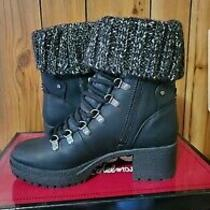 Circus by Sam Edelman Womens Cardigan Ankle Boots Black G6823m20 Knit Cuff 7.5 M Photo