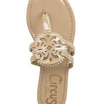 Circus by Sam Edelman Womens Size 8.5 Canyon Sandals Patent Almond Photo