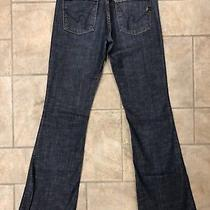Citizens of Human Women's Flare Ingrid002 Dark Wash Jeans Size 30 X 34 Nice Photo