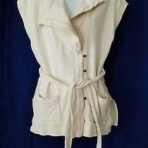 Citizens of Humanity Anthropologie Sleeveless Utility Jacket Belted Size M  Photo