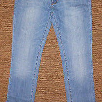 Citizens of Humanity Ava Low Rise Straight Leg Jeans 33 X 33 Electric Guitar Photo