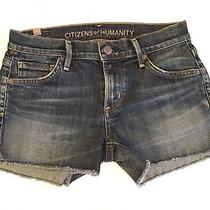 Citizens of Humanity Ava Shorts Size 24 Color Patina Photo