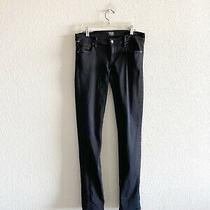 Citizens of Humanity Black Jeans Avedon Slick Skinny Leg Size 29 Photo