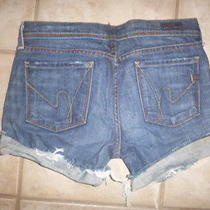Citizens of Humanity Brand Jean  Cut Off Shorts     Size 29 Photo