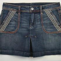 Citizens of Humanity Coh Denim Mini Skirt Sz 28 Cotton Lycra Blend Style 347-060 Photo